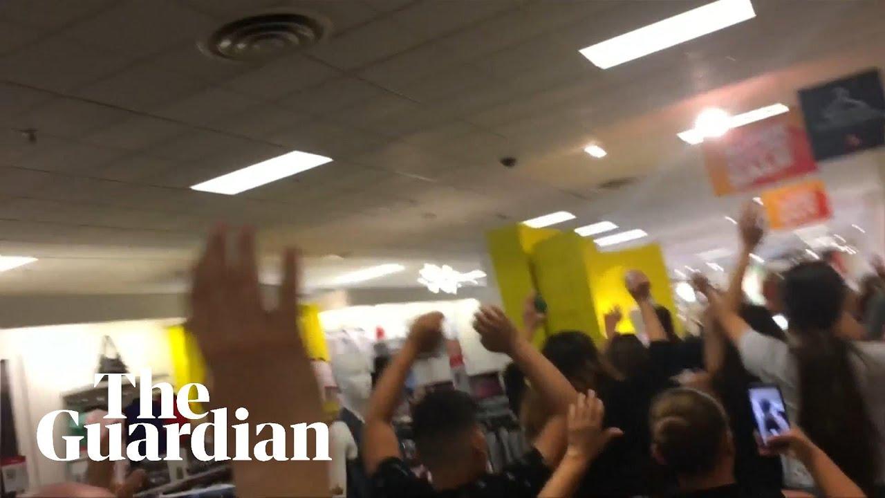 El Paso shooting: Terrified shoppers flee mall as Walmart gunman kills at least 20