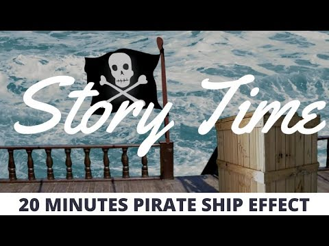 Story Time Pirate Ship Castle | 20 Minute Backdrop Video Effect