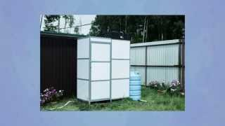 Летний душ для дачи с подогревом Ариэль 09АРД-Б250 ЛЮКС(, 2013-07-09T08:54:02.000Z)