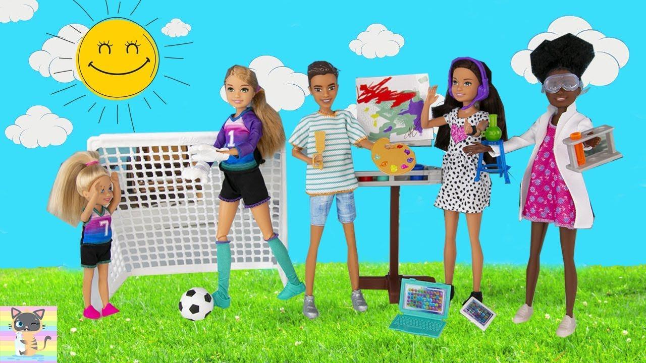 Barbie Team Stacie Friend of Stacie Doll Art Class Playset with Accessories Kid
