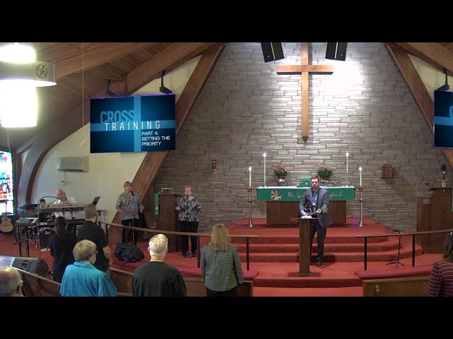 Worship for October 18, 2020 - Setting the Priority
