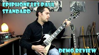 EPIPHONE LES PAUL STANDARD 60's Demo Review en Español!