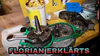 Sachs 503 Motor zusammenbauen mit Florian