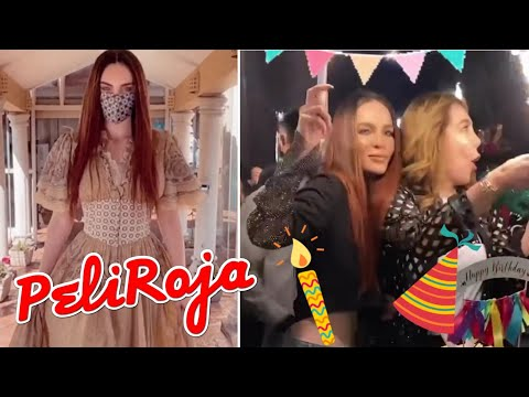 Belinda celebra el cumpleaños de Mamá Belinda 🤗 / Belinda PeliRoja