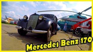 Old Cars Show Mercedes Benz 170 Documentary. Rare German Car Mercedes-Benz W136