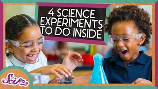 4 Amazing Science Experiments for a Day Inside