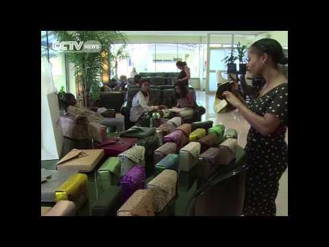 Nigerian Designer Zainab Ashadu bags make a Mark Overseas