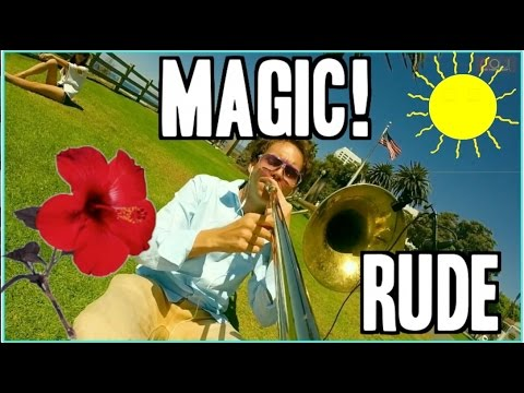 trombone gopro - MAGIC! - Rude - Trombone GoPro Cover