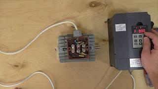 Дешевый частотный преобразователь 1500 ватт ZW-AT1 220в выход 3 фазы