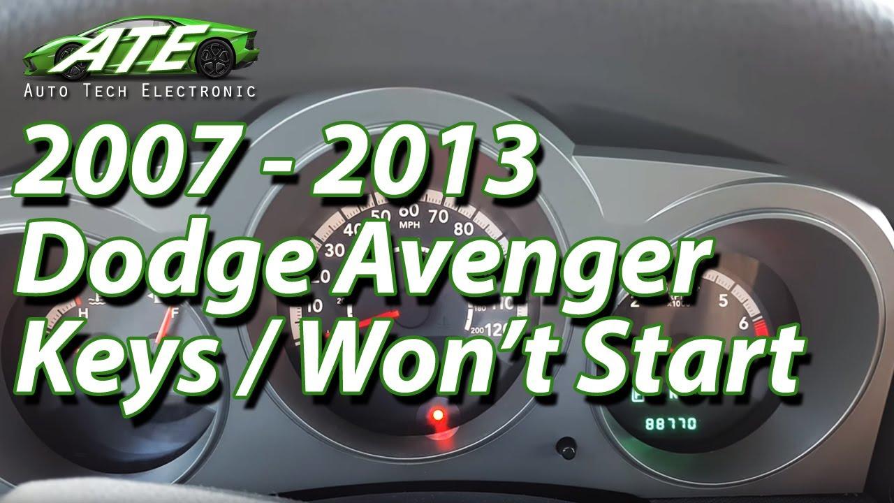 medium resolution of 2007 2008 2009 2010 2011 2012 13 dodge avenger