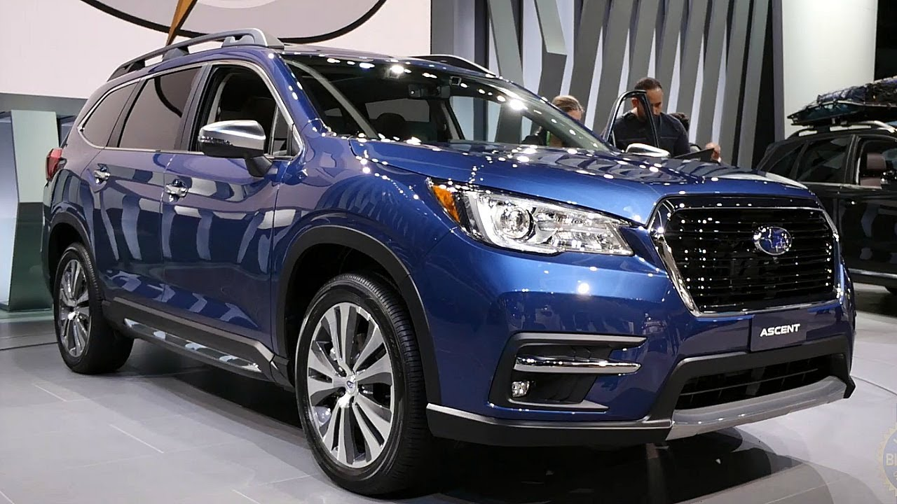 2019 Subaru Ascent 2017 Los Angeles Auto Show Youtube