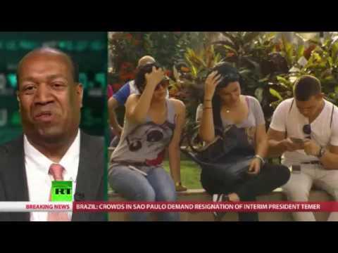 "CubaStandard journalist Vito Echevarria on RT (Russian TV) program ""Boom Bust"""