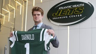 Mike Francesa w/Sam Darnold-Learning,leading,Bowles,being in NY,Namath,greatest strength,more WFAN