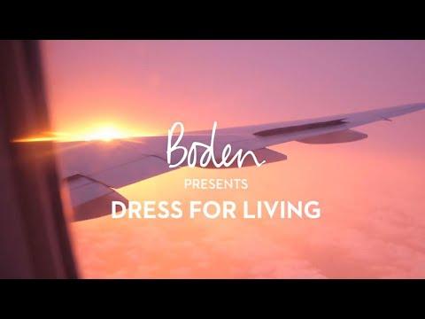 Boden SS19 Lookbook : Dress for Living