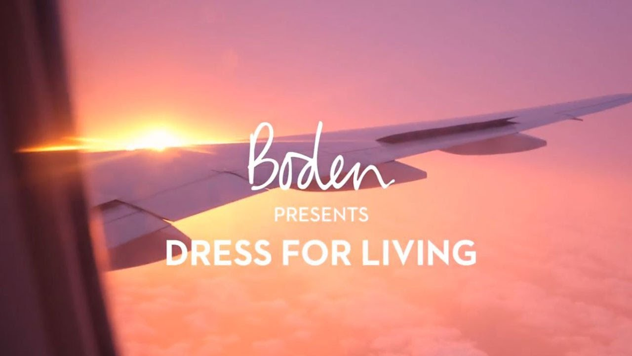 Boden SS19 Lookbook : Dress for Living