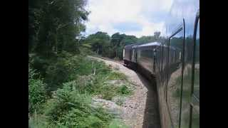 UK: On board a Virgin Cross Country HST (InterCity 125) on the Par to Newquay line in Cornwall