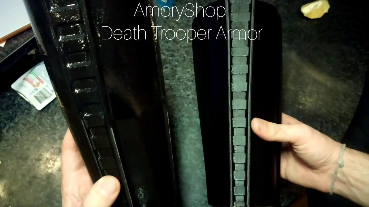 Star Wars Rogue One Death Trooper 3D printed Armor Mk2