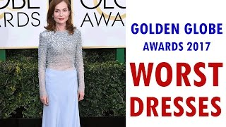 Worst Dresses at the Golden Globes Awards 2017