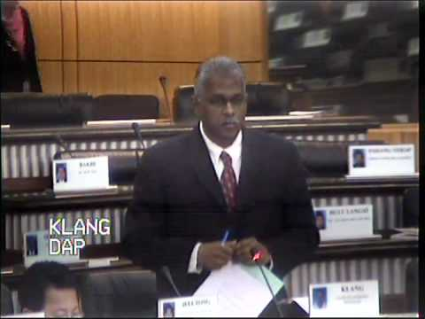 Charles Santiago suggest solid steps to help the workers to Finance Minister II