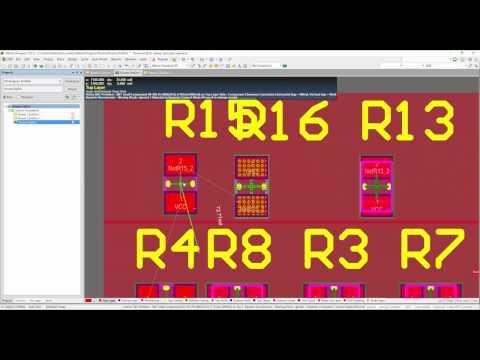 Using rooms within Altium Designer