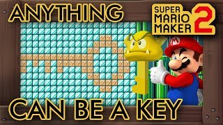 Super Mario Maker 2 - Anything Can Serve As A Key