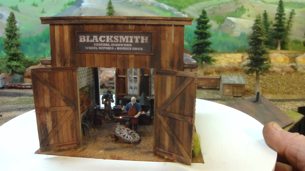 Blacksmith Shop Completed Youtube