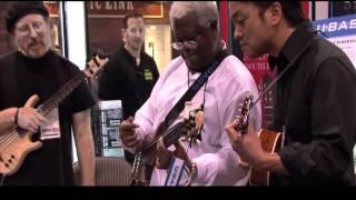 Abraham Laboriel, Steve Billman, Daniel Ho U-BASS/NAMM 2012