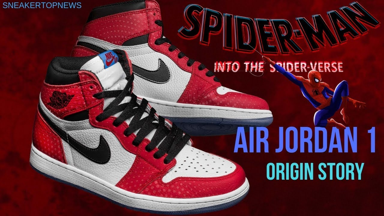 new concept cc161 5316f ... sale the air jordan 1 retro high og origin story jordan 1 spiderman  jordan 11 concord