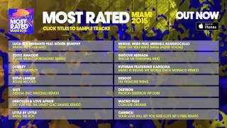 Defected presents Most Rated Miami 2015 - Album Sampler