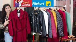 80 Off Flipkart Boss Sale Winter Wear Haul Blazer For Kurta Long Coat For Saree sheetmeetwithme