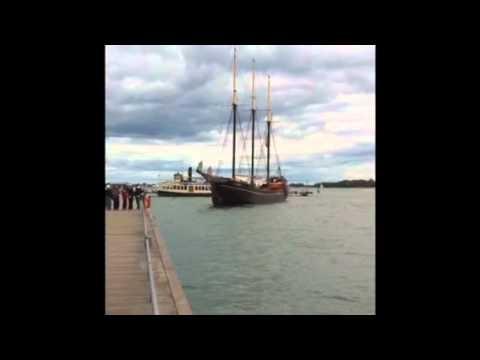 Toronto Harbor cruise Ship
