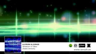 LA RUSH & SINUS - Whatever It Takes (Radio Version)