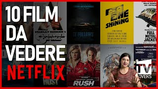 Perdi un sacco di tempo su netflix alla ricerca del film perfetto? questo video è la soluzione: ti consiglio 10 imperdibili disponibili nel catalogo ...