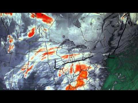 Major winter storm eastern Canada