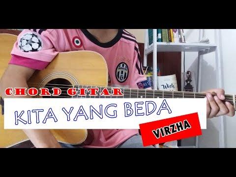Tutorial Chord Gitar KITA YANG BEDA VIRZHA Mudah Dipahami