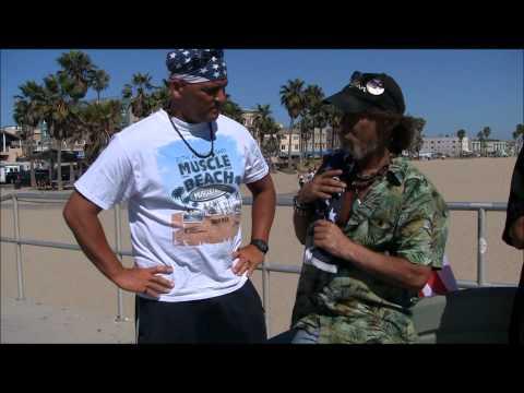 Vietnam Veteran Homeless on Venice Beach AMAZING STORY!