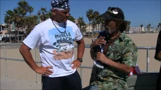 Vietnam Veteran Homeless on Venice Beach AMAZING STORY!
