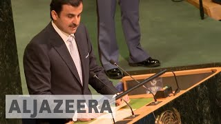 Видео Qatar's emir addresses Gulf crisis at UN General Assembly от Al Jazeera English, Катар