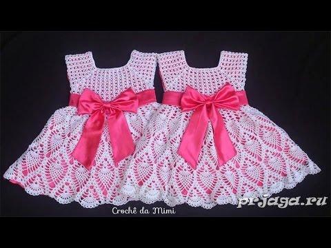 вязание крючком платье для девочки на лето 2019 Knitting Hook