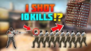 Video CS:GO - How Many People Can You Kill With 1 Bullet!? download MP3, 3GP, MP4, WEBM, AVI, FLV Desember 2017