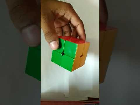 Solving 2x2 Rubik's cube fast in 14 seconds!!!