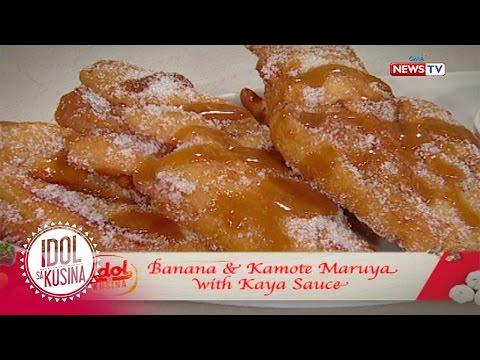 Idol sa Kusina recipe: Banana and Kamote Maruya with Kaya Sauce