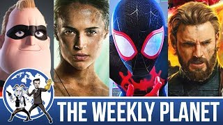 Most Anticipated Movies 2018 - The Weekly Planet Podcast