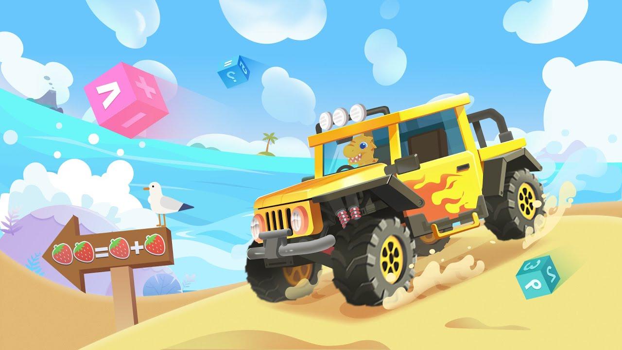 Dinosaur Kids Math📕 - Free exploration adventure coming soon|Math Learning Games for kids | Yateland