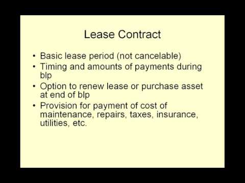 video20 Lease Financing