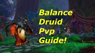 Balance druid pvp guide 7.0.3 talents/honor talents/rotation