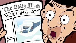 Schnee-Chaos ❄️| Lustige Episoden | Mr Bean Cartoon-Welt