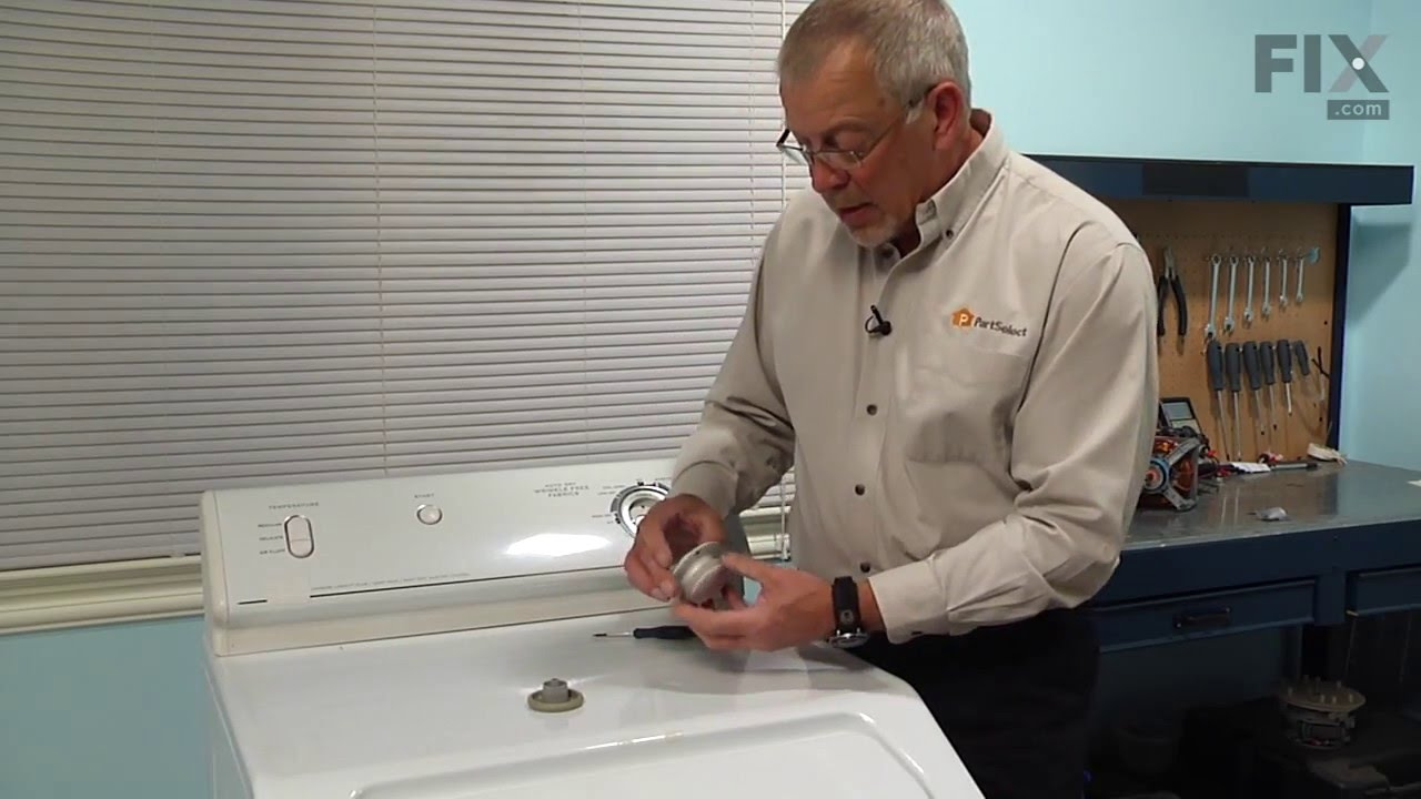 Maytag Dryer Repair How To Replace The Timer Knob Youtube Diagram