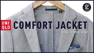 UNIQLO COMFORT JACKET Review [A Casual Everyday Blazer for Men] screenshot 3