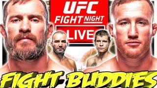 🔴 UFC VANCOUVER CERRONE VS GAETHJE + TEXEIRA VS KRYLOV LIVE FIGHT REACTION!